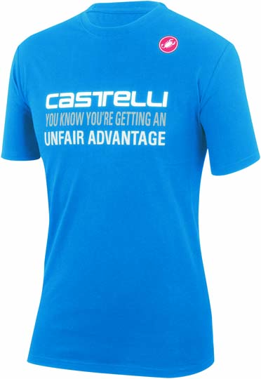 Castelli advantage T-shirt blauw heren 14074-059