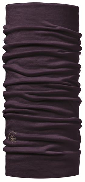 BUFF Solid plum nekwarmer paars