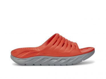 Hoka One One ORA Recovery Slide slippers rood heren