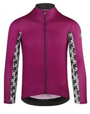 4780a5cbd44 Assos Mille GT summer lange mouw fietsshirt paars heren