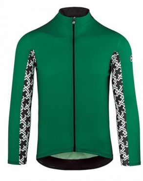 d57c9d4c062 Assos Mille GT summer lange mouw fietsshirt groen heren