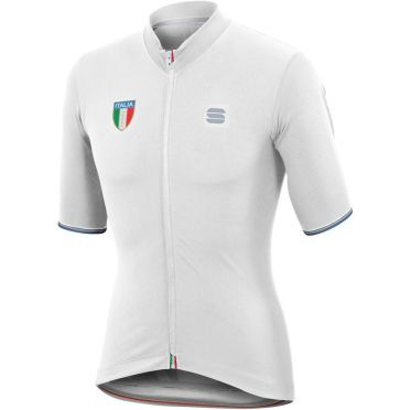 Sportful Italia CL jersey fietsshirt wit heren
