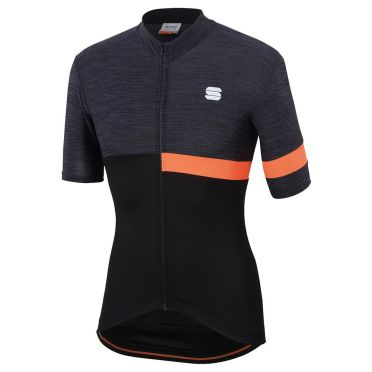 Sportful Giara Jersey zwart/oranje heren
