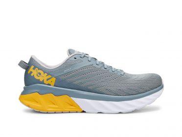 Hoka One One Arahi 4 hardloopschoenen blauw/geel heren