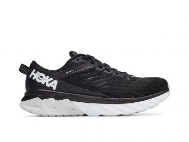 Hoka One One Arahi 4 hardloopschoenen zwart/wit dames