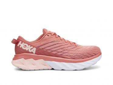 Hoka One One Arahi 4 hardloopschoenen roze dames