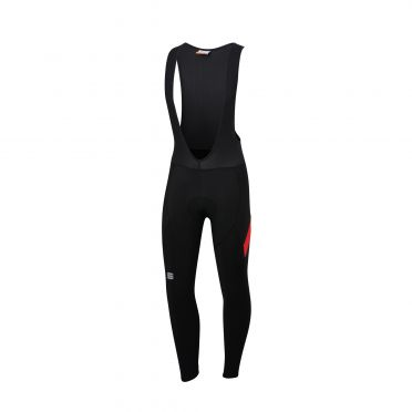 Sportful Neo bibtight zwart/rood heren