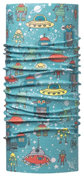 BUFF Baby high uv space robots blue