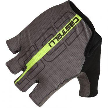 Castelli Tempo glove fietshandschoenen zwart/fluo geel heren
