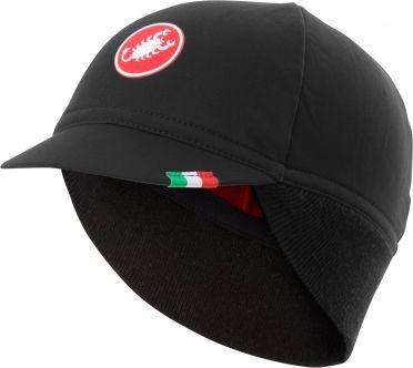 Castelli Difesa thermal cap helmmuts zwart