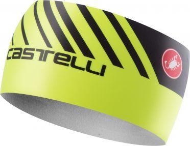 Castelli Arrivo 3 thermo hoofdband fluo geel heren