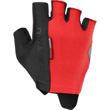 Castelli Rosso Corsa Espresso handschoen rood heren