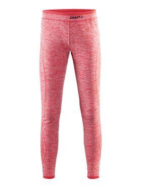 Craft Active Comfort lange onderbroek rood/poppy kind/junior