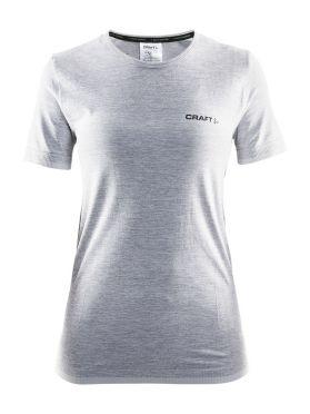 Craft Active Comfort korte mouw ondershirt grijs/melange dames