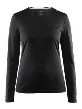 Craft Mind lange mouw hardloopshirt zwart dames