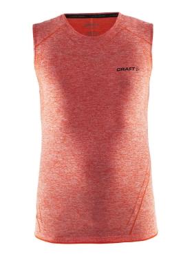 Craft Active Comfort mouwloos ondershirt rood/heat heren