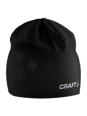 Craft Perforated muts zwart