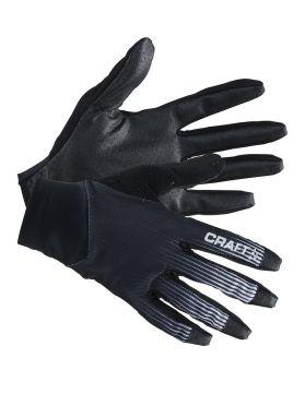 Craft Route fietshandschoenen zwart/wit unisex