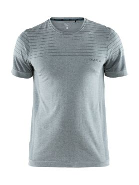 Craft cool comfort korte mouw ondershirt grijs/melange heren