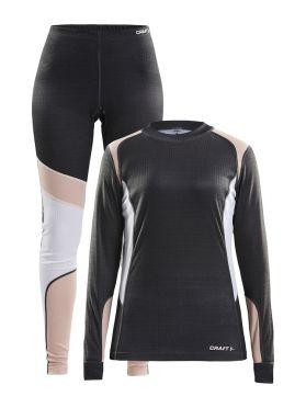 Craft Active onderkleding voordeel set grijs/wit/roze dames