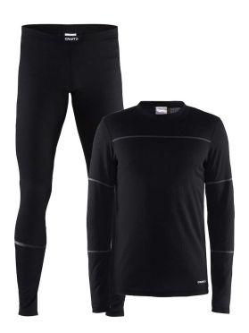 Craft Active onderkleding voordeel set zwart heren