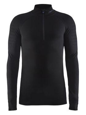 Craft Active intensity zip lange mouw ondershirt zwart heren
