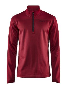 Craft Pin halfzip Skipully rood heren