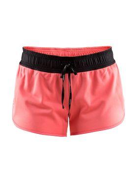 Craft Eaze jersey hardloop short roze dames