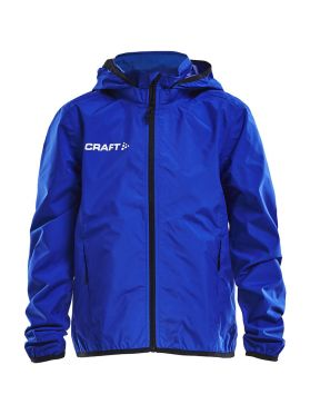 Craft Rain trainings jas blauw/cobolt junior