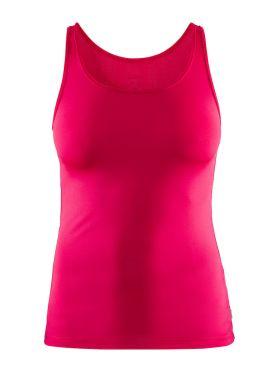Craft Essential Singlet mouwloos ondershirt roze/jam dames
