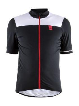 Craft Point fietsshirt zwart/wit heren