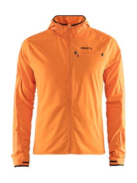 Craft Urban run hood hardloopjack oranje heren
