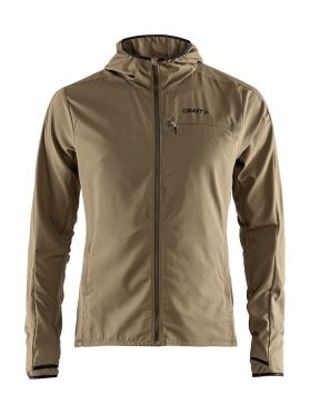 Craft Urban run hood hardloopjack olive heren