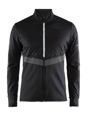 Craft Urban run thermal wind hardloopjack zwart heren