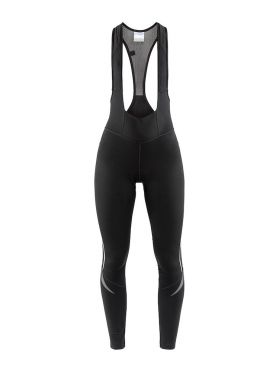 Craft Ideal Thermal bibtight fietsbroek zwart dames