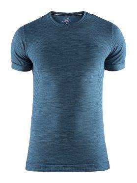 Craft Fuseknit comfort korte mouw ondershirt blauw/fjord heren