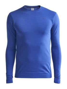 Craft Warm comfort lange mouw ondershirt blauw heren