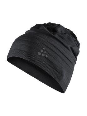 Craft Warm comfort muts zwart