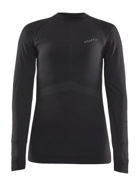 Craft Active Intensity CN lange mouw ondershirt zwart dames