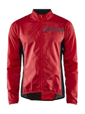 Craft Essence Light Wind fietsjacket rood heren