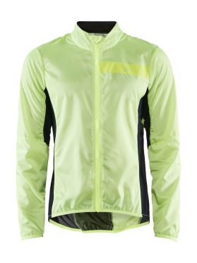 Craft Essence Light Wind fietsjacket geel heren
