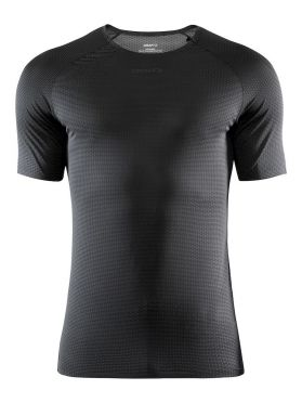 Craft Pro Dry Nanoweight korte mouw ondershirt zwart heren