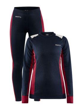 Craft Core Dry thermo onderkleding set blauw dames