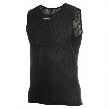 Craft Stay Cool Mesh Superlight mouwloos shirt zwart heren