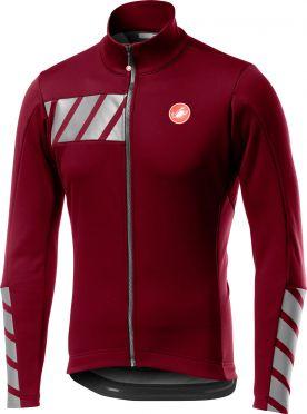 Castelli Raddoppia 2 jacket rood/paars heren