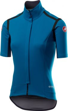 Castelli Gabba RoS W korte mouw fietsshirt blauw dames