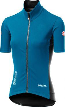 Castelli Perfetto RoS W Light korte mouw fietsshirt blauw dames