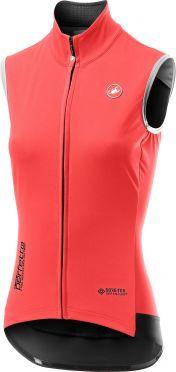 Castelli Perfetto RoS Vest mouwloos fietsshirt roze dames