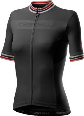 Castelli Promessa 3 korte mouw fietsshirt zwart dames