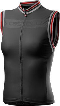 Castelli Promessa 3 mouwloos fietsshirt zwart dames